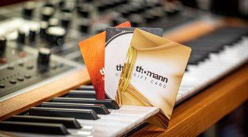 Last-Minute-Geschenkidee für Weihnachten: Thomann Gutschein