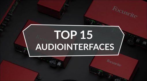 Die erfolgreichsten Audiointerfaces bei Thomann 2020