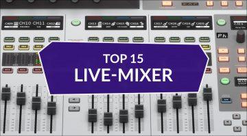 Live-Mixer des Jahres 2020 bei Thomann