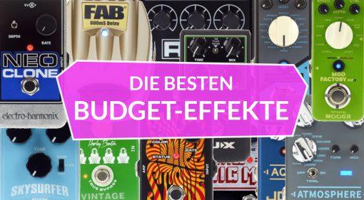Topliste Budget Effekt Pedale Overdrive Distortion Fuzz 1