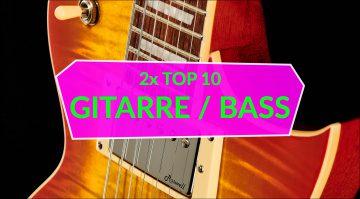 Topliste E-Gitarre E-Bass Teaser