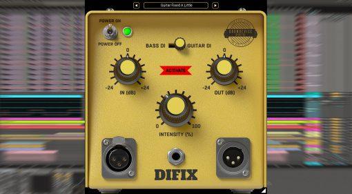 United Plugins DIFIX: Endlich Gitarre und Bass richtig recorden!