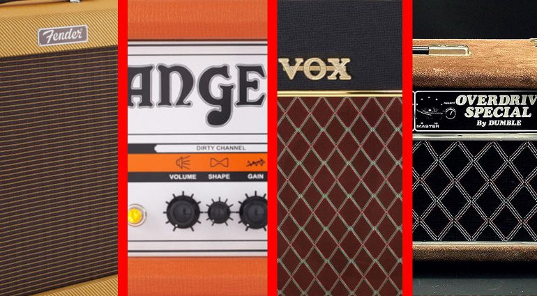 Vox Fender Tweed Orange Dumble Sound Vergleich Videos