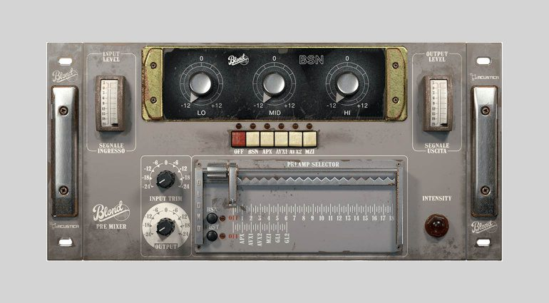 Acustica Audio Blond EQ