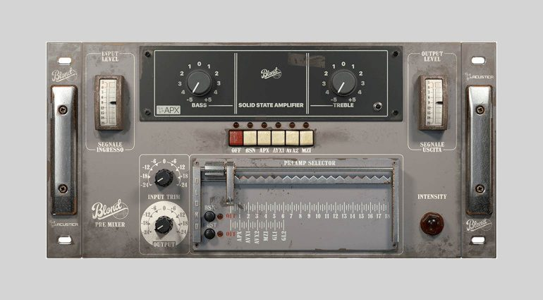 Acustica Audio Blond Pre Mixer