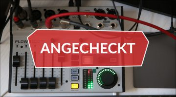 Angecheckt Behringer Flow8 Digitalpult
