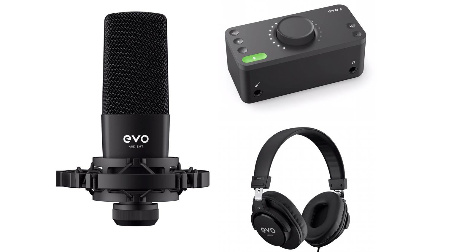EVO Start Recording Bundle