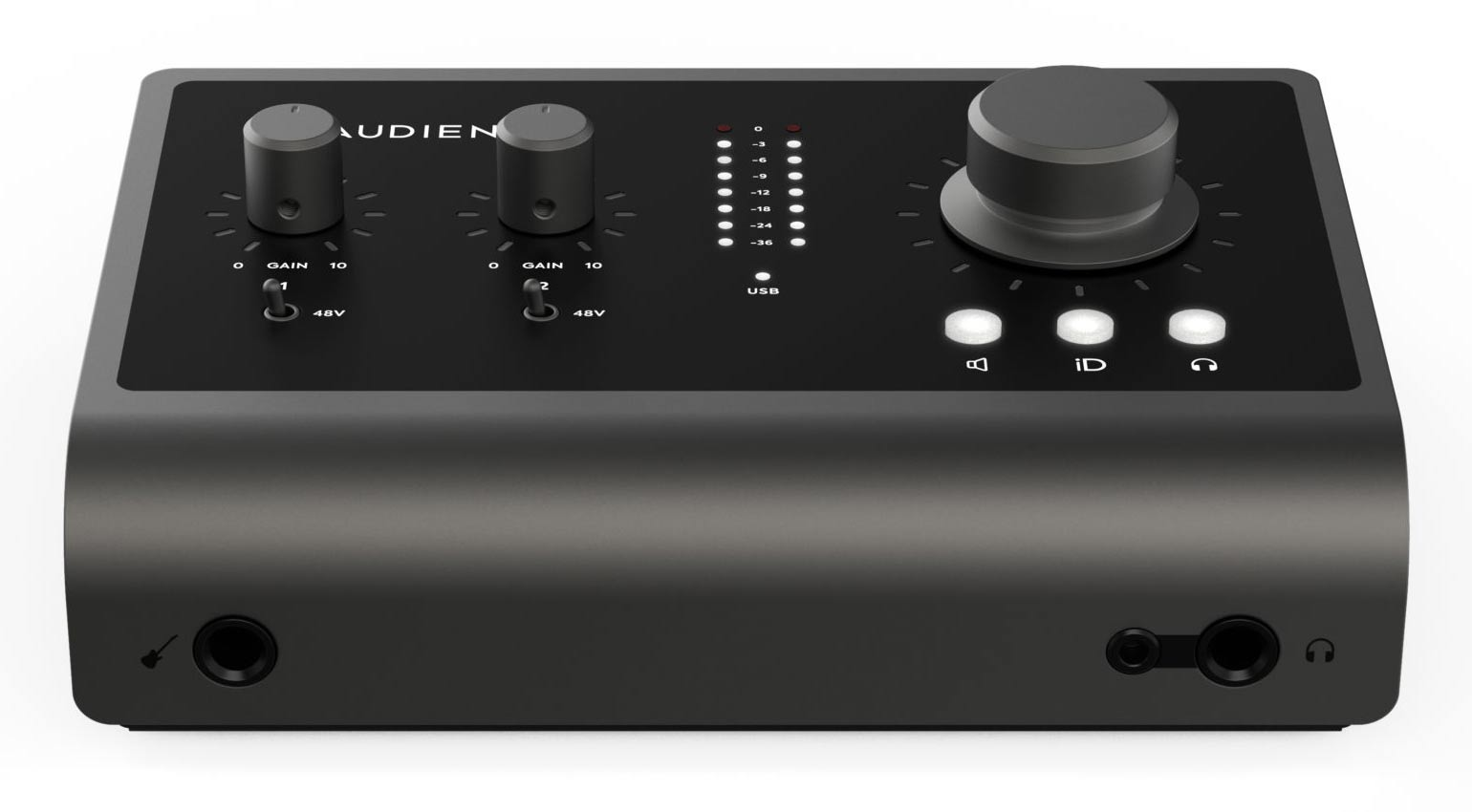 Frontansicht Audient iD14 MKII