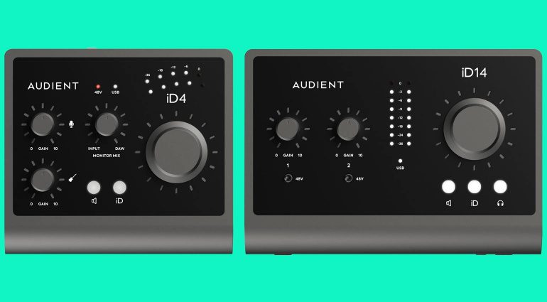 Audient iD4 / iD14 MKII Audiointerfaces