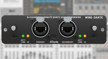 Behringer WING-DANTE Expansion Card