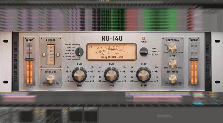 Black Rooster Audio RO-140: EMT-140 Emulation enthält sechs Materialien
