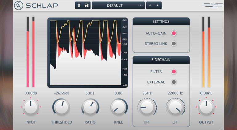 Caelum Audio Schlap: ein vielseitiges, aggressives Kompressor-Plug-in