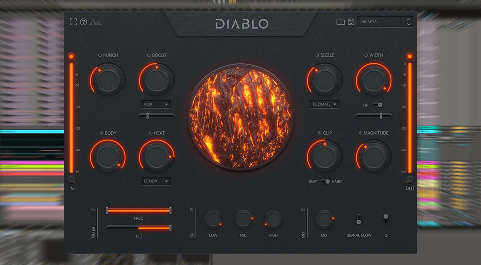 Freeware: Cymatics Diablo Lite - ein Drum Enhancer Plug-in für mehr Punch
