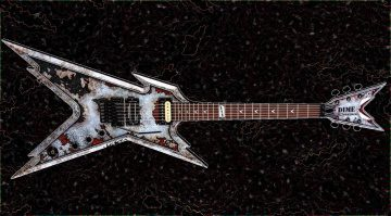 Dean Dimebag Razorblade Rust Gitarre Teaser