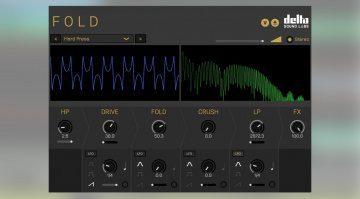 Delta Sound Labs Fold: ein kreativer Wavefolder, Distortion und Modulationen