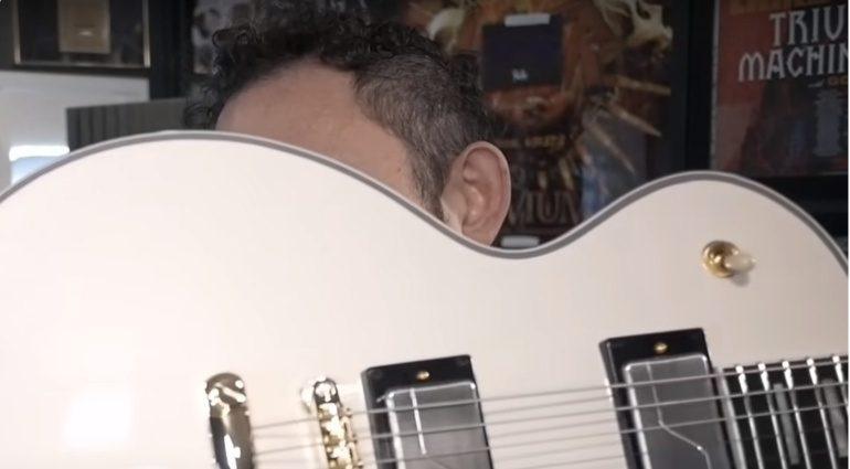 Epiphone MKH Origins Les Paul Custom Matt Heafy Signature White