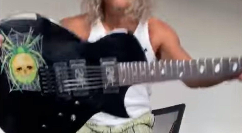 ESP KH-3 Custom Eclipse Spider 13 Kirk Hammet 2