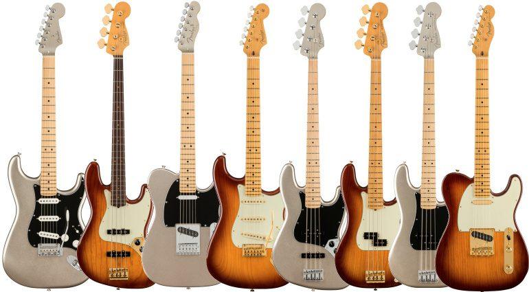Fender 75th Anniversary Modelle