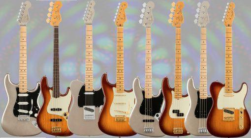 Fender 75th Anniversary Modelle Teaser