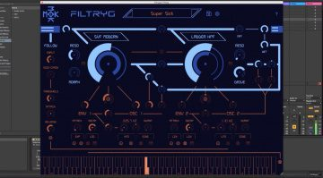 MOK Filtryg: Kreatives duales Multimode-Filter mit Modulation und MIDI