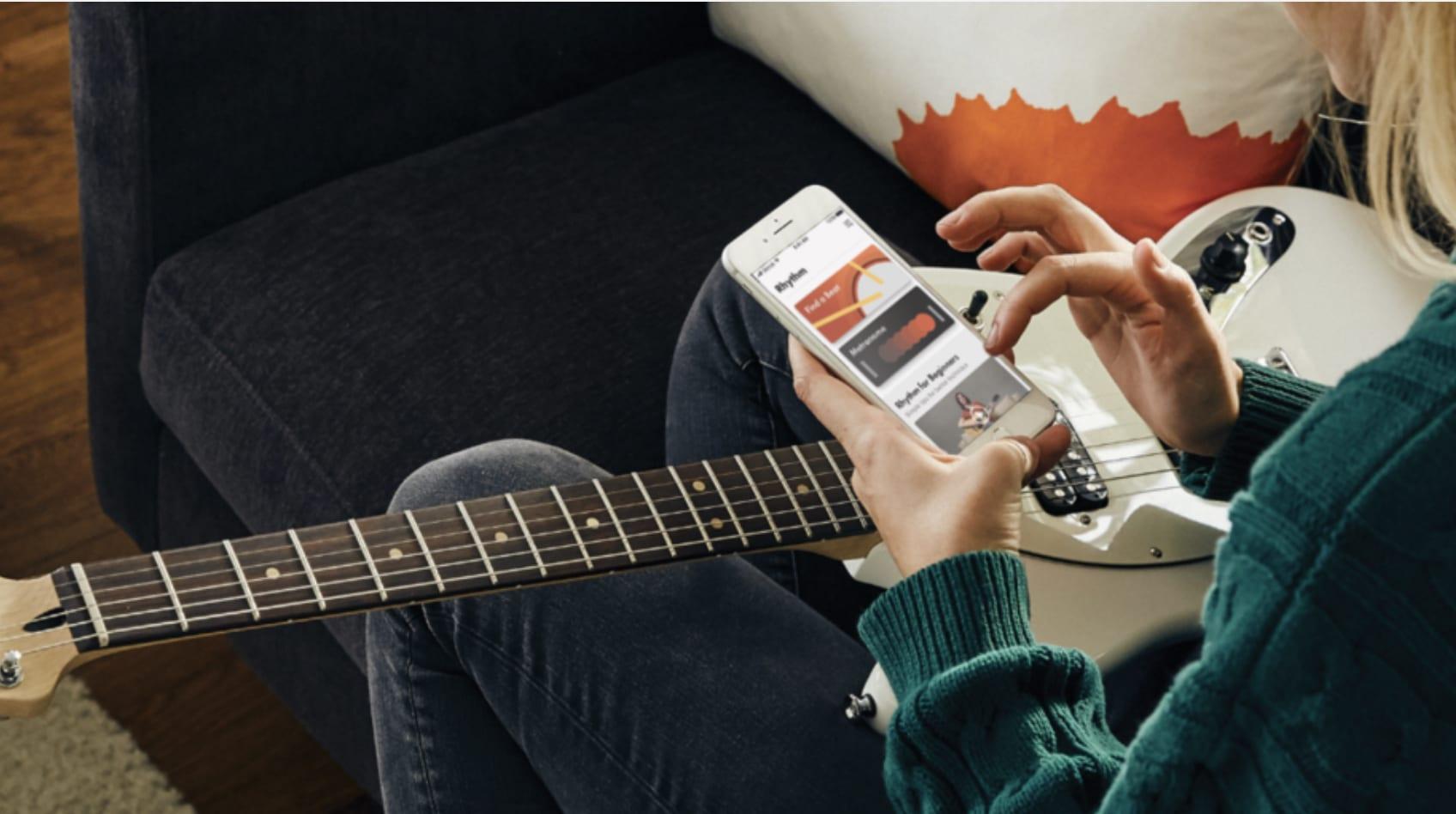 Kostenloses Player Pack Upgrade mit Drum Beat, Chords und Pro Tuner