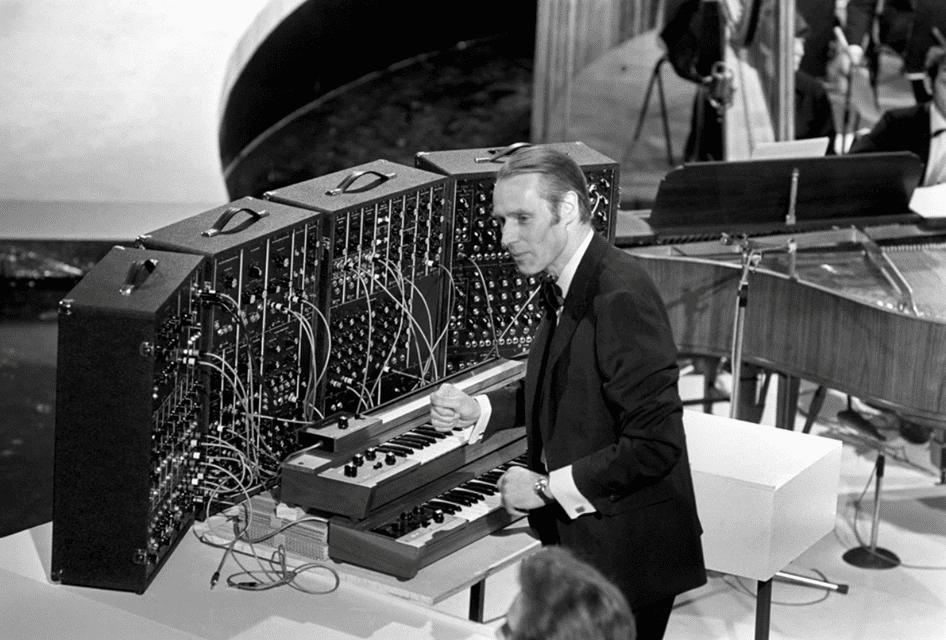 George Martin am Moog System
