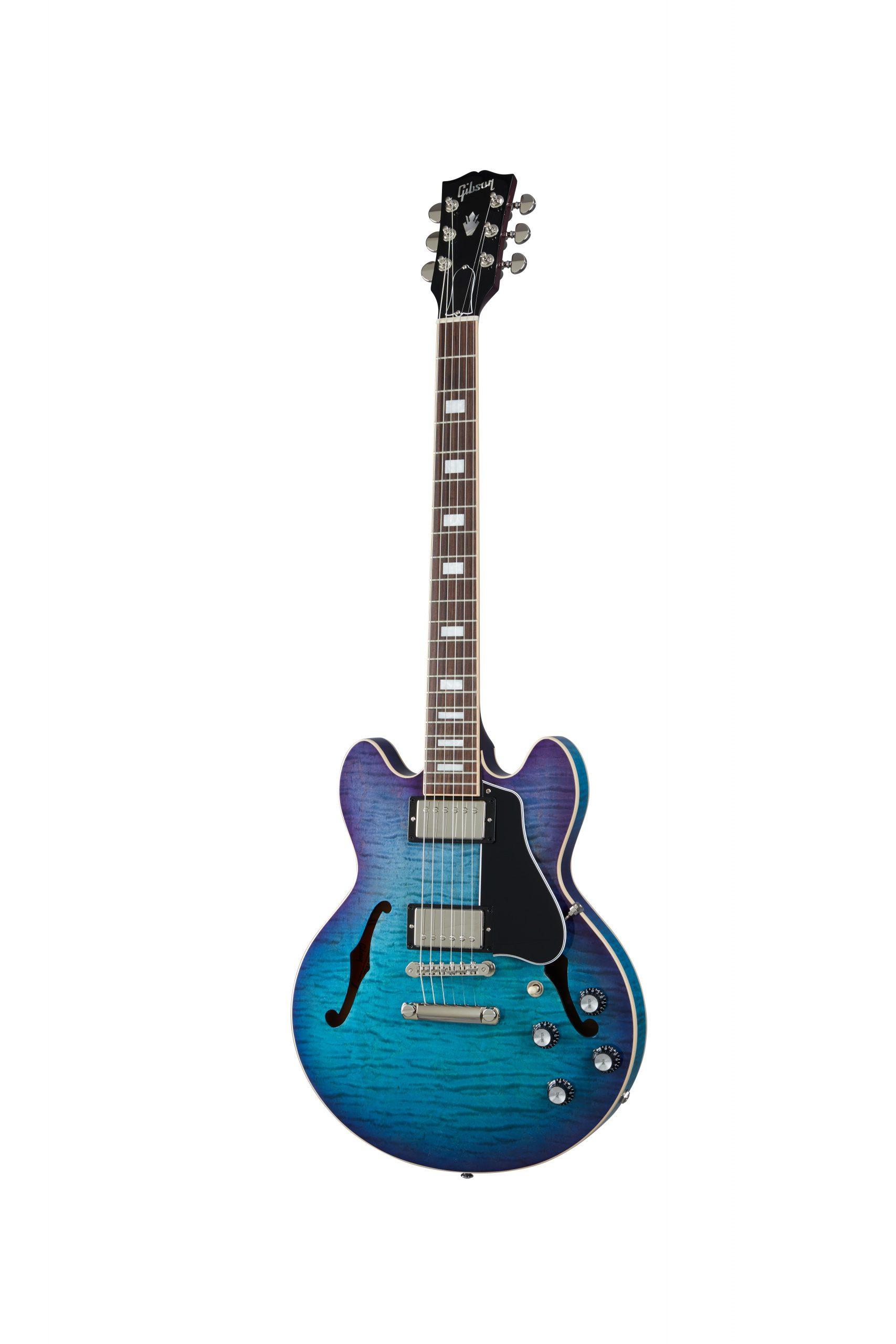 Gibson Modern ES-339 Figured Blueberryburst