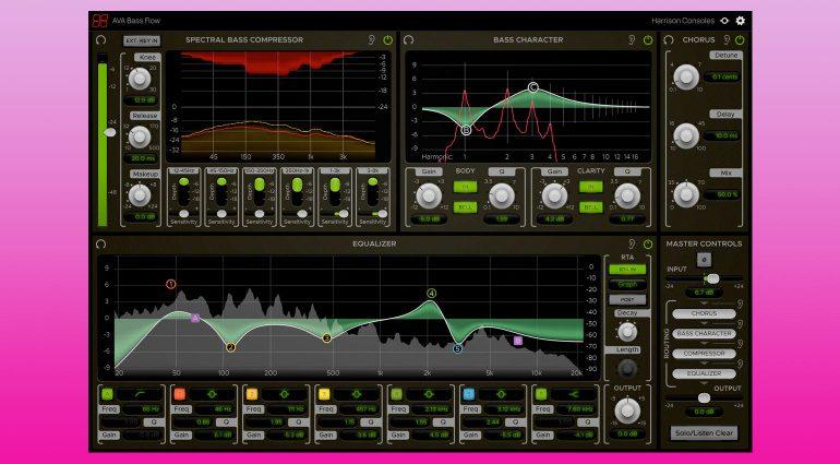 Harrison Consoles AVA Bass Flow