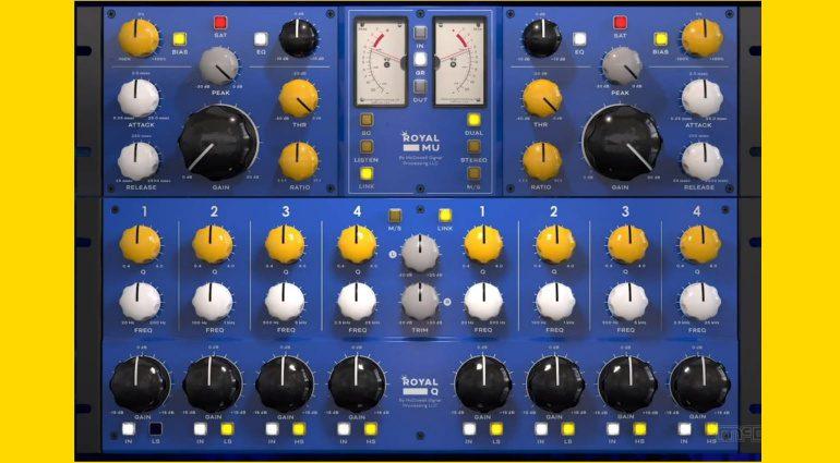 NAMM 2021: McDSP Royal Mu & Royal Q - virtuell analoge Plug-ins und ein Deal!