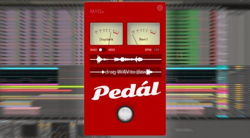 Miidbaby Pedál: zusammen online Songs erstellen - einfacher geht es nicht!