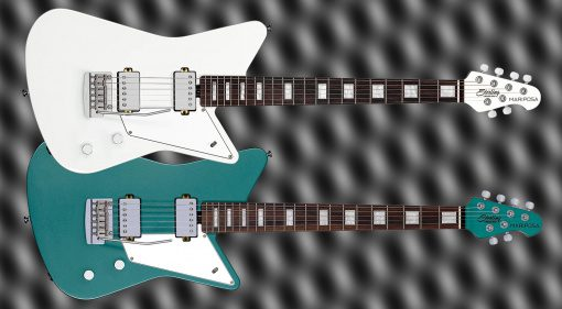 Music Man Sterling Mariposa White Green Teaser