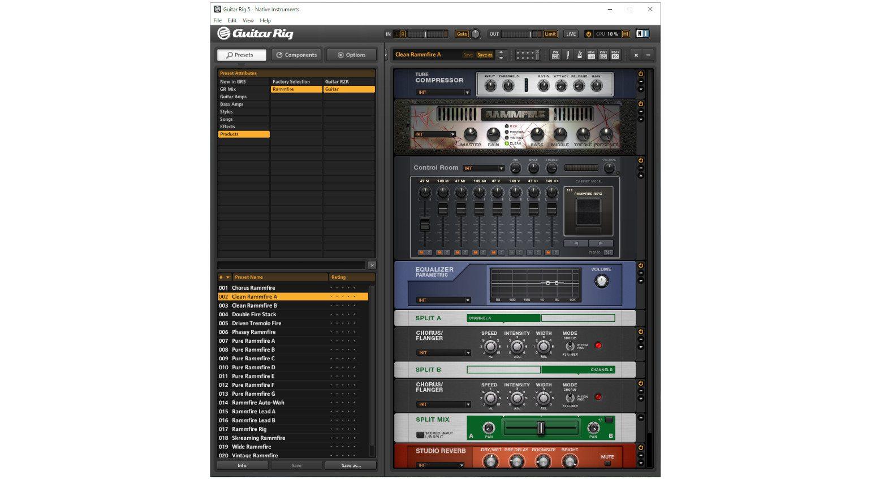NI Guitar RIG 5 GUI