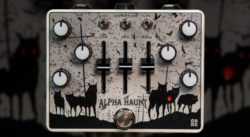 Old Blood Noise Endeavours Alpha Haunt Fuzz 2021 Effekt Pedal Teaser
