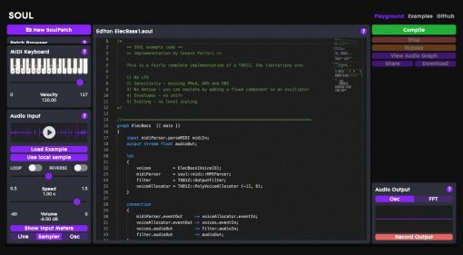 SOUL: Die zukünftige Programmiersprache für Audioanwendungen?