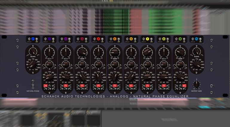 Schaack Audio Technologies AnalogQ: Ein virtueller Massive Passive Equalizer