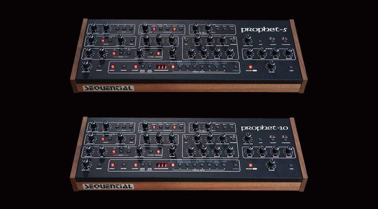Sequential Prophet-5 und Prophet-10 Desktop