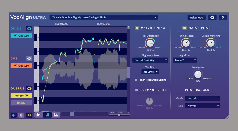 Synchro Arts VocAlign Ultra