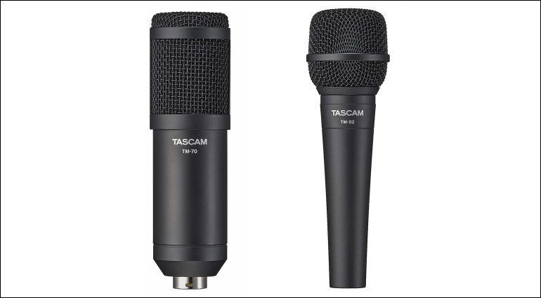 Tascam TM-70 und TM-82