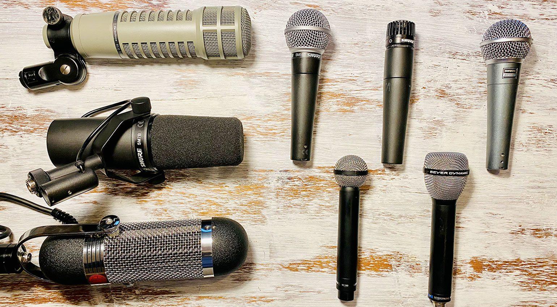 Mikrofone, die mit Tierra Audio Flavours Preamps funktionieren