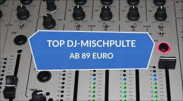 15 Top DJ-Mixer, Clubmixer und Battlemixer ab 89 Euro