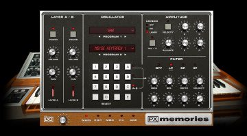 UVI PX Memories bringt den Lintronics Advanced MemoryMoog in die DAW