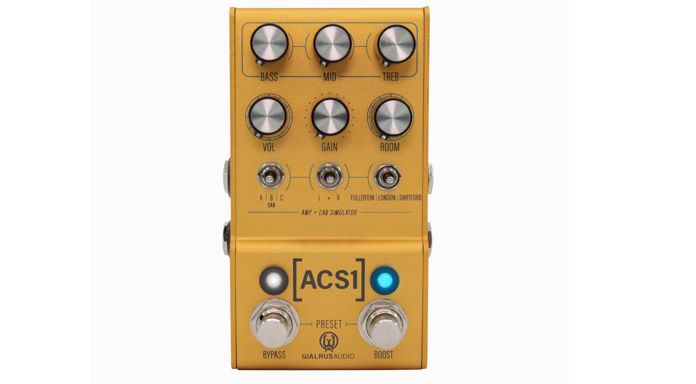 Walrus Audio ACS1 Effekt Pedal Front