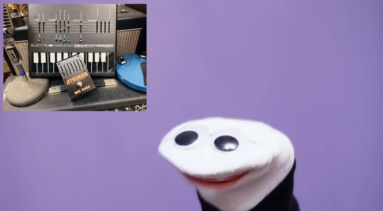 Way Huge Atreides Analig Weirding Module Effekt PEdal EHX Mini Synth Keyboard Sockenpuppe