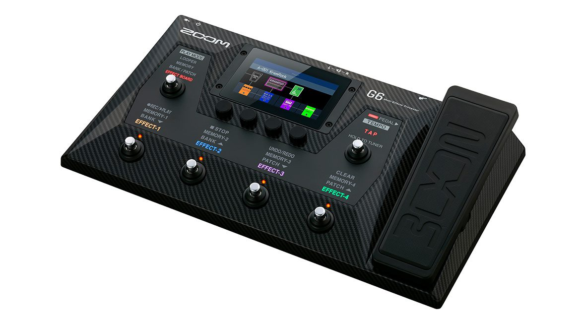 Zoom G6 Multi-Effects Processor