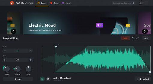 BandLab Sounds: Ein Web-basierter Sample Editor und mehr