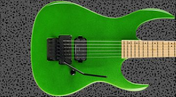 BC Rich Gunslinger II Prophecy Green Teaser