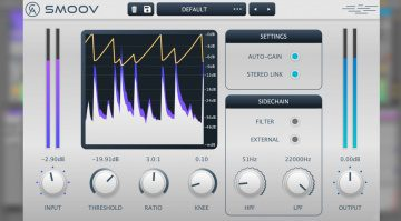 Caelum Audio Smoov: smoothes Stereokompressor Plug-in