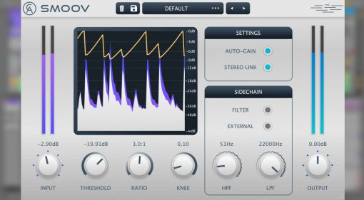 Caelum Audio Smoov: smoothes Stereokompressor Plug-in