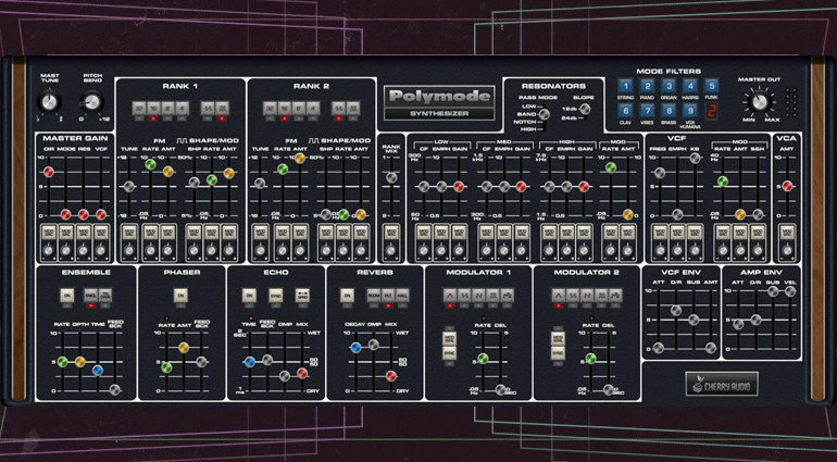 Cherry Audio Polymode: Ein Moog Polymoog als Plug-in für 29 US-Dollar!