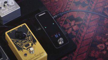 DAddario Chromatic PEdal Tuner Plus Front Pedalboard Countdown